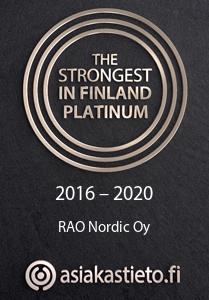 THE STRONGEST IN FINLAND PLATINUM / RAO NORDIC