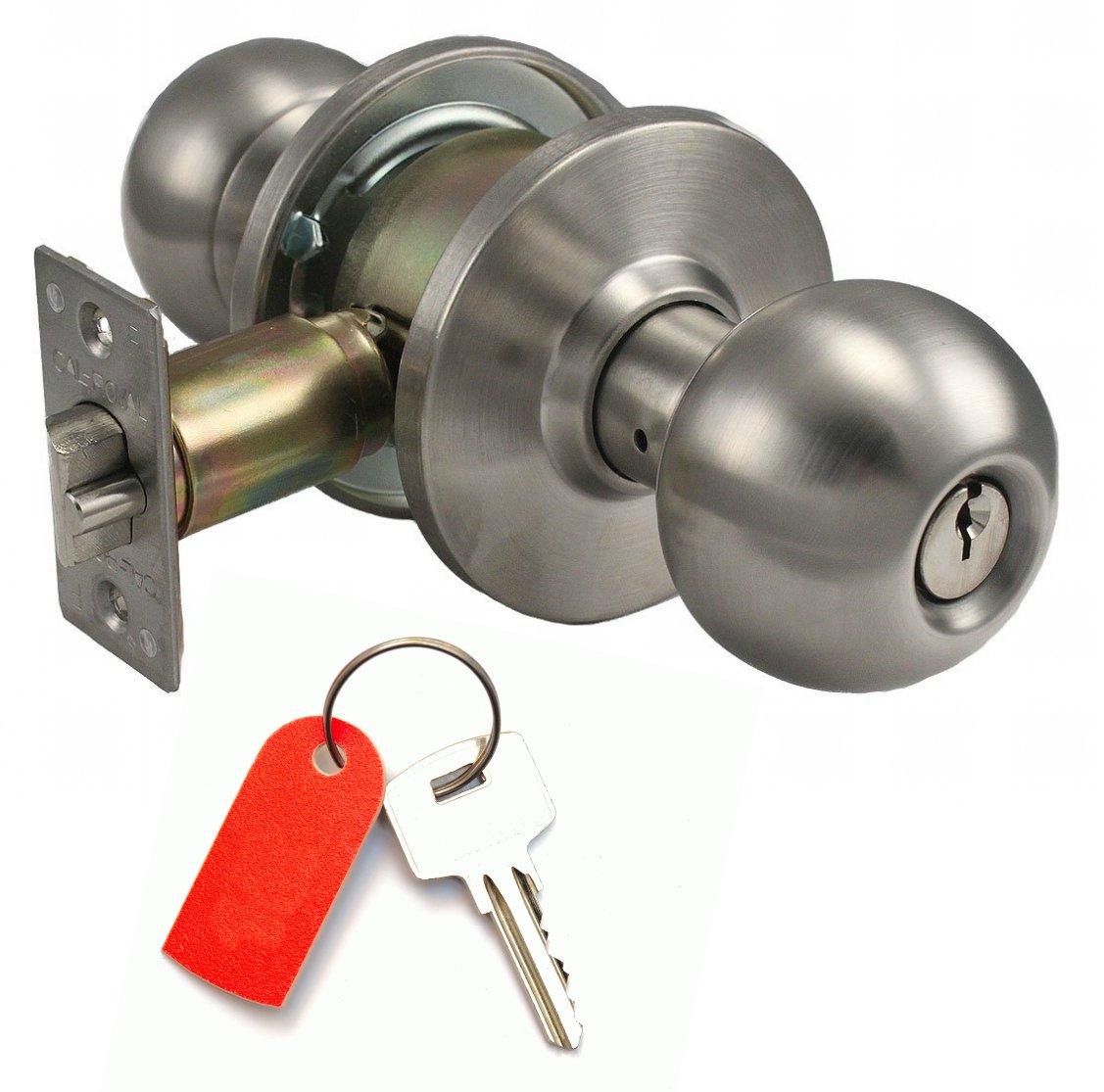 cerradura de pomo con llave