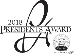 2018 Carrier President's Award Winner