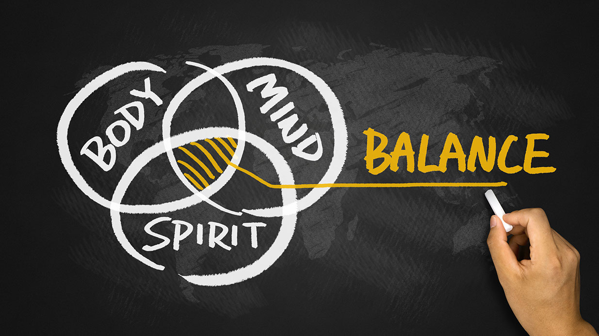 Balance between mind, body, and spirit for people with Ehlers-Danlos or chronic illness.