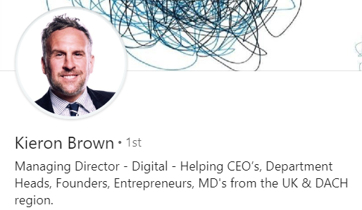 Linkedin profile picture of Keron Brown, Managing Director at IngeniumIQ