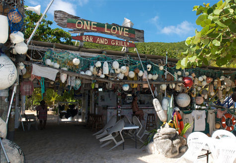 White Bay Villas One Love Bar and Grill