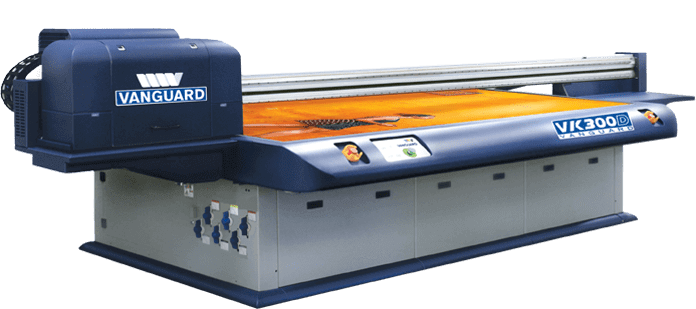 Vanguard VK300D Flatbed UV Printer