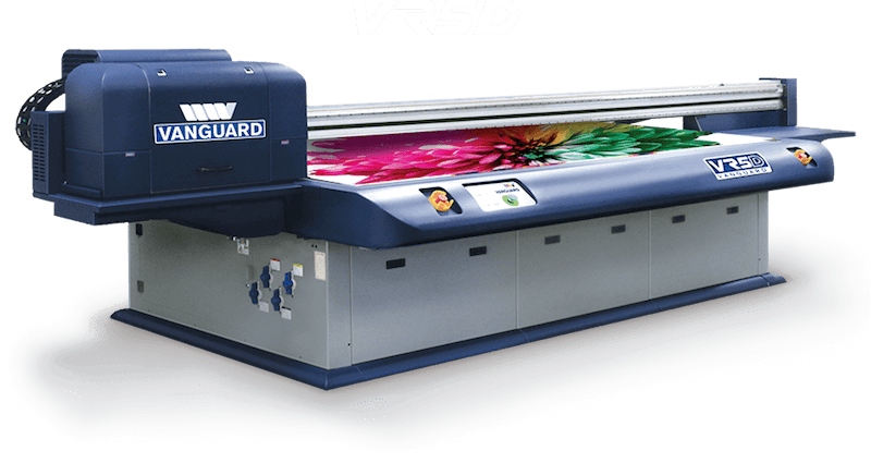 Vanguard VR5D Flatbed UV Printer