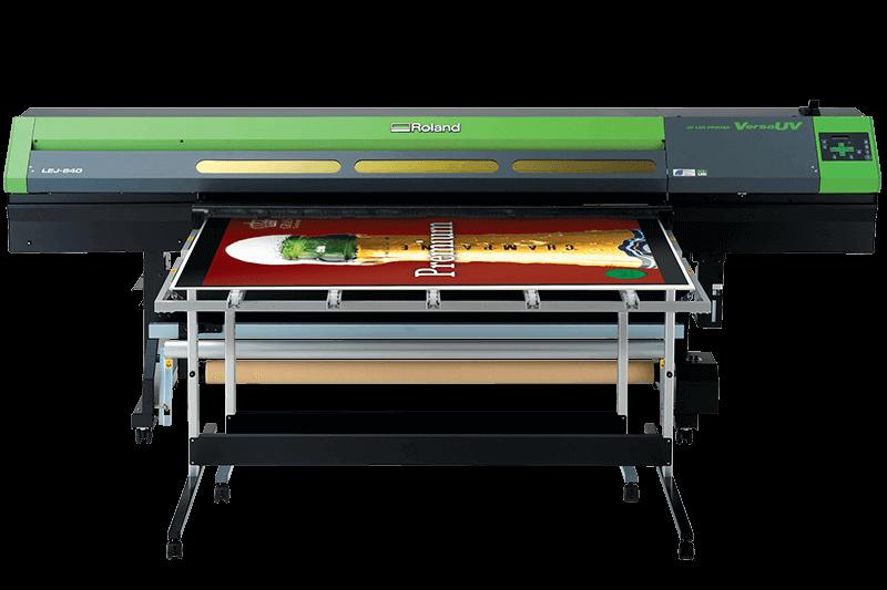Roland VersaUV LEJ-640 UV Hybrid/Flatbed Printer