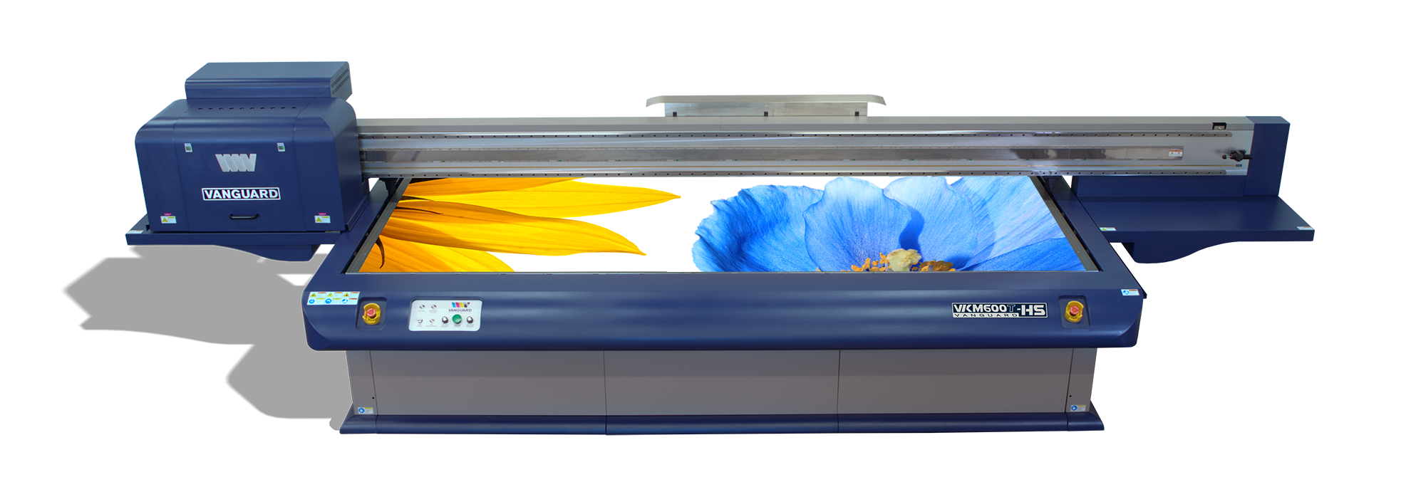 Vanguard VKM600T-HS Flatbed LED UV Printer