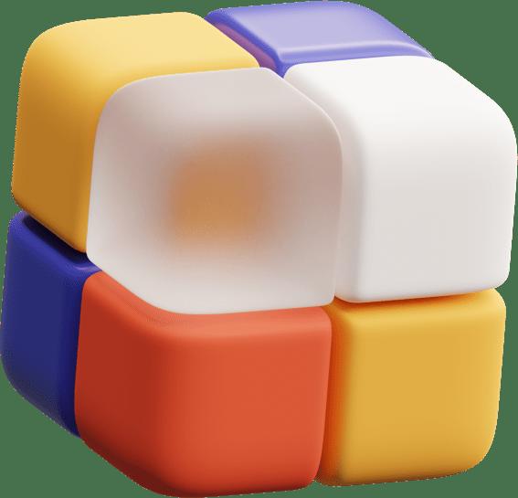 Иллюстрация кубика рубика