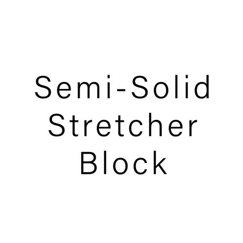 Semi-Solid Stretcher Block