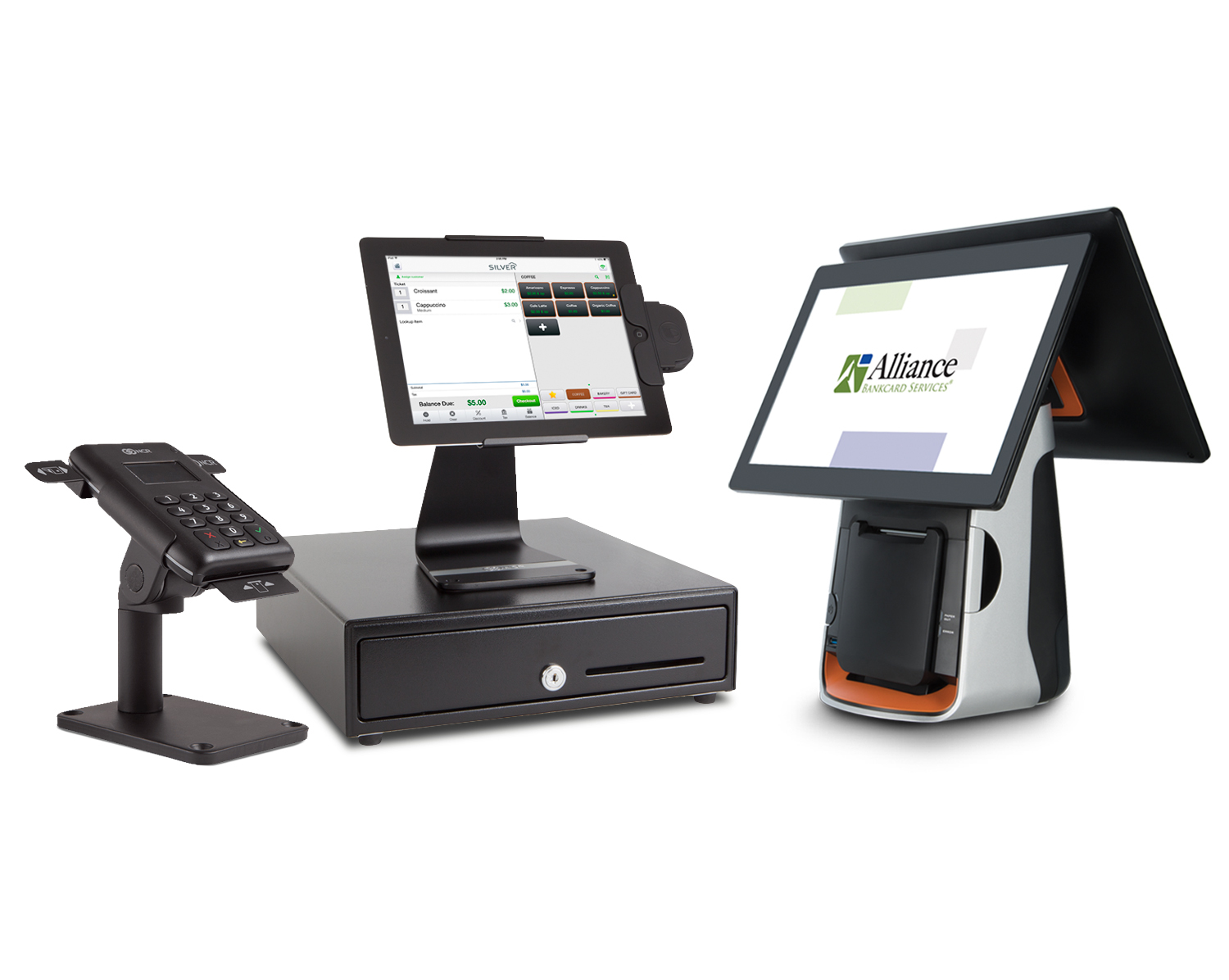 Manipulate A Complete Line of POS Equipment