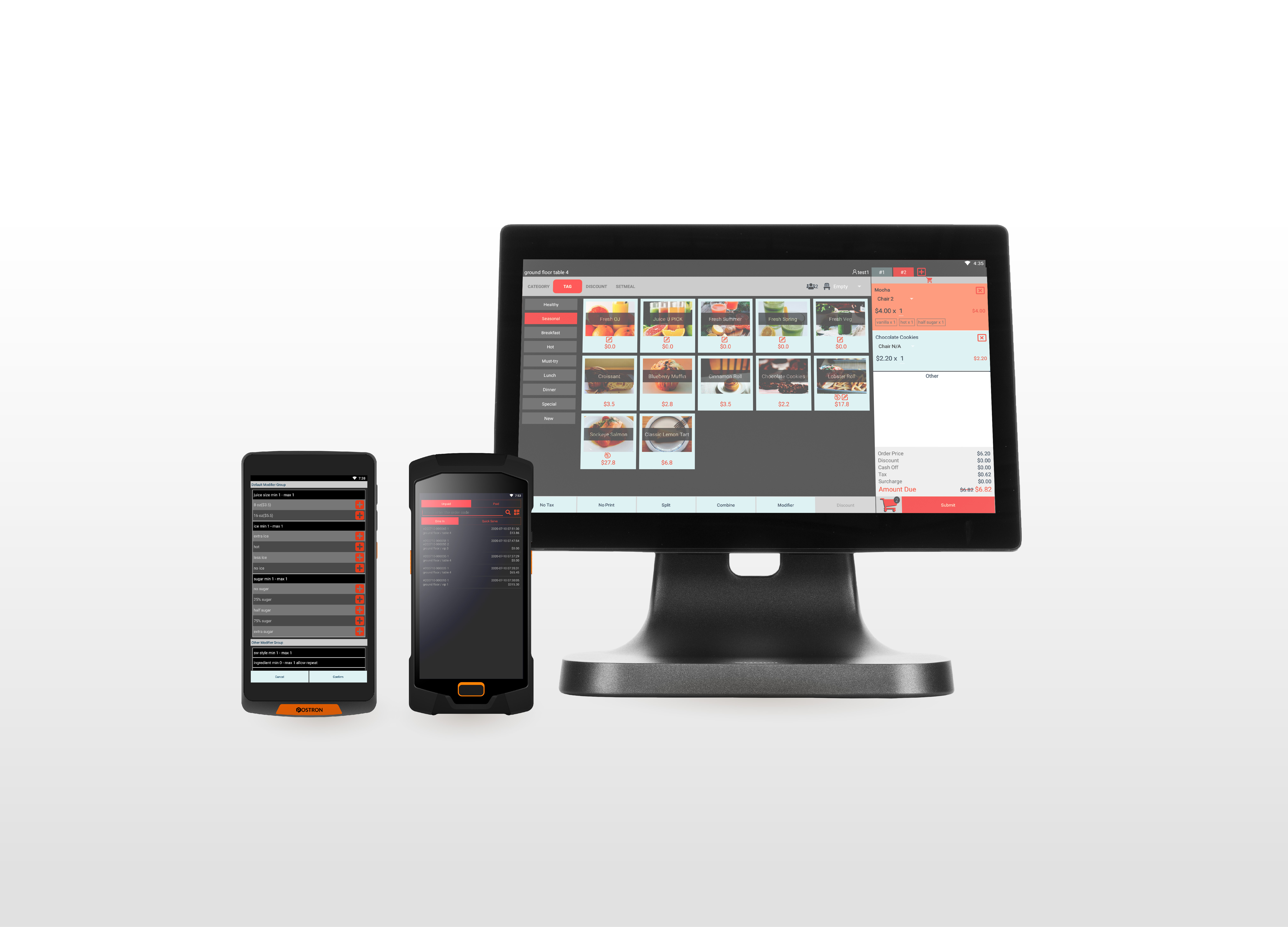 A Full Integrated Ordering and Payment System