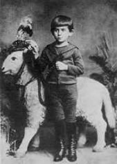 Franz Kafka at the age of 5