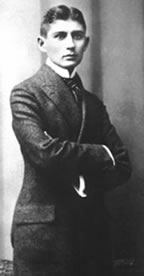 Franz Kafka at the age of 23