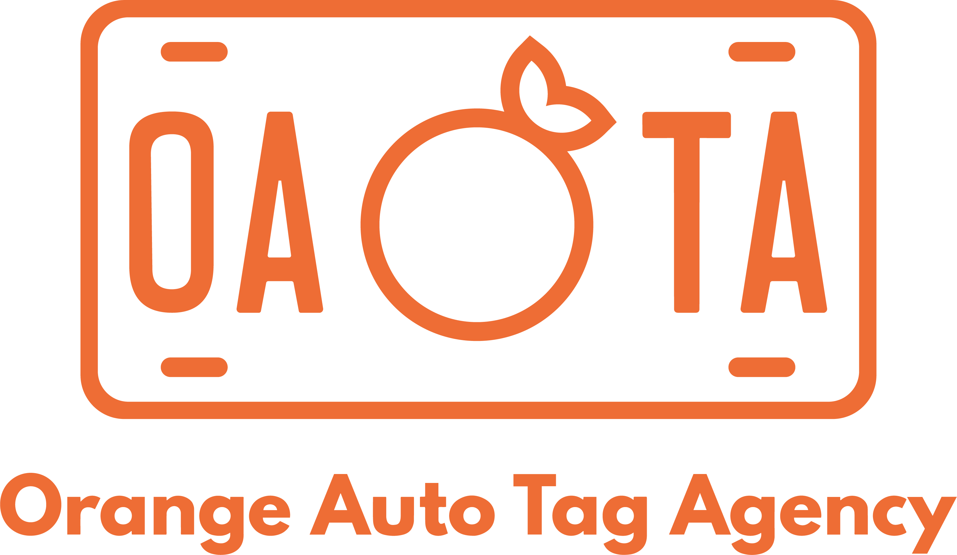Orange Auto Tag Agency logo