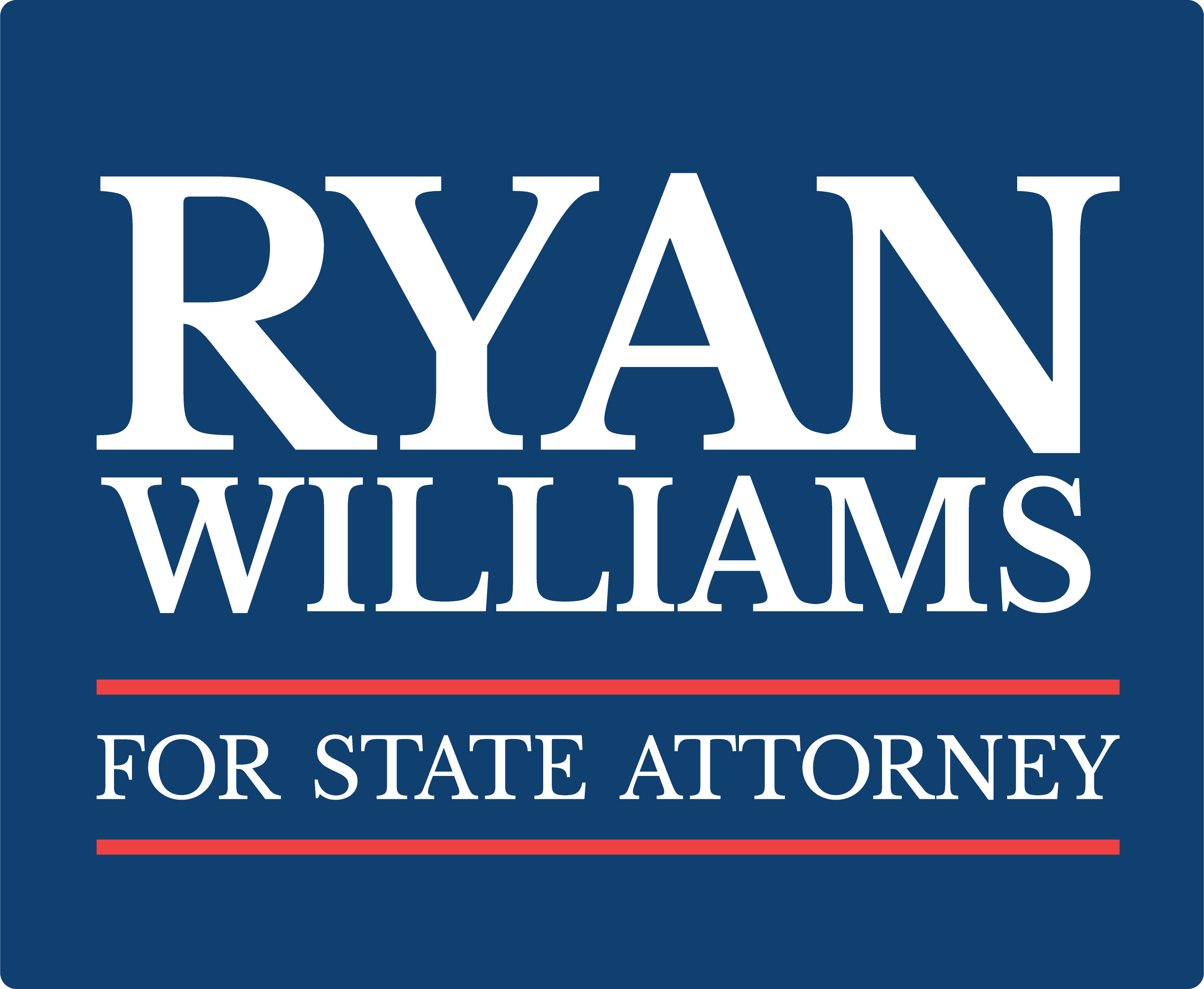 Ryan Williams for State Attorney Logo