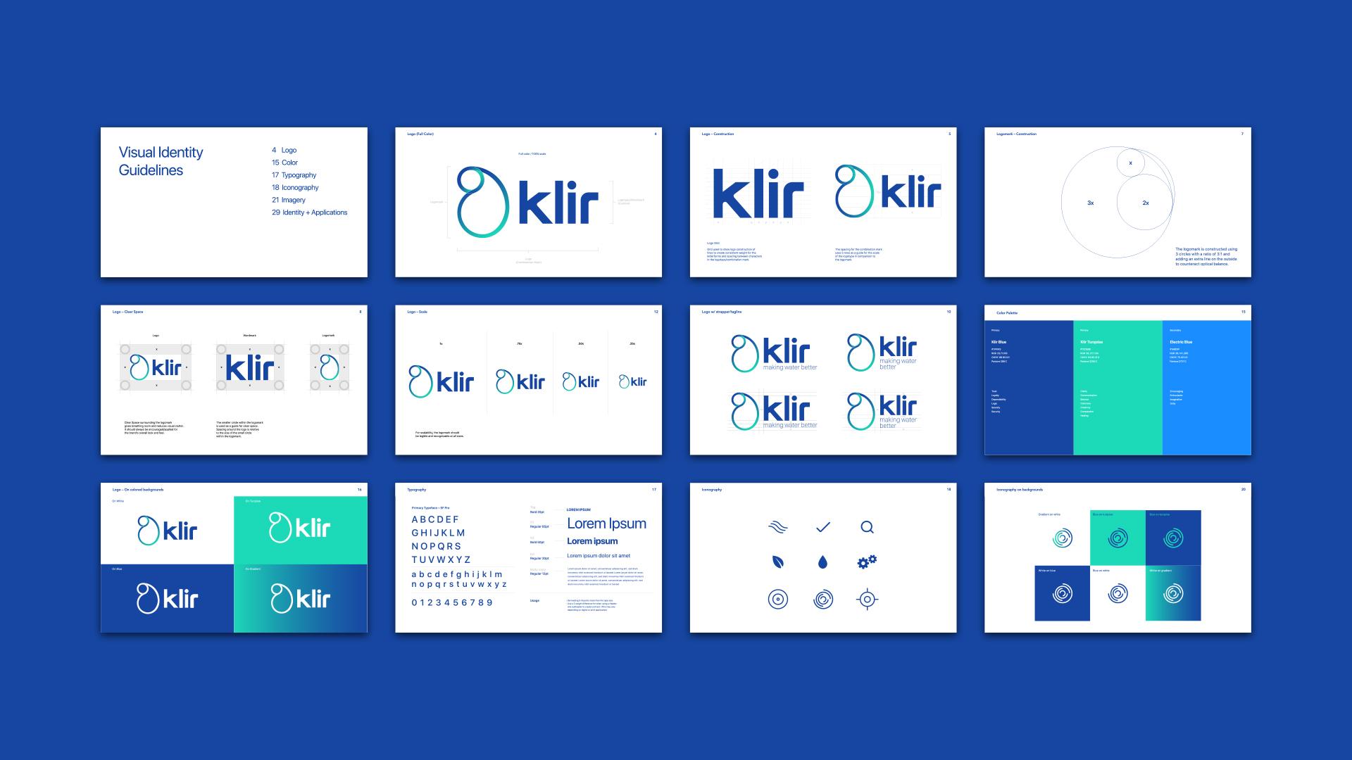 klir brand guidelines