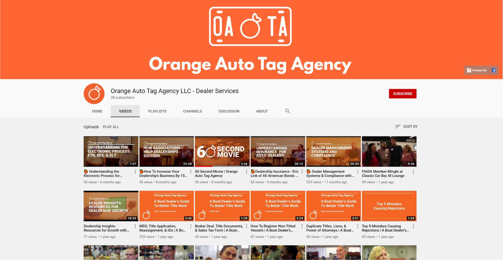 orange auto tag agency oata youtube