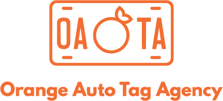 Orange Auto Tag Agency Logo