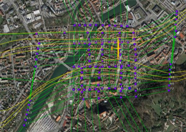 Geodatenerfassung aus der Luft mit Elektra Solar
