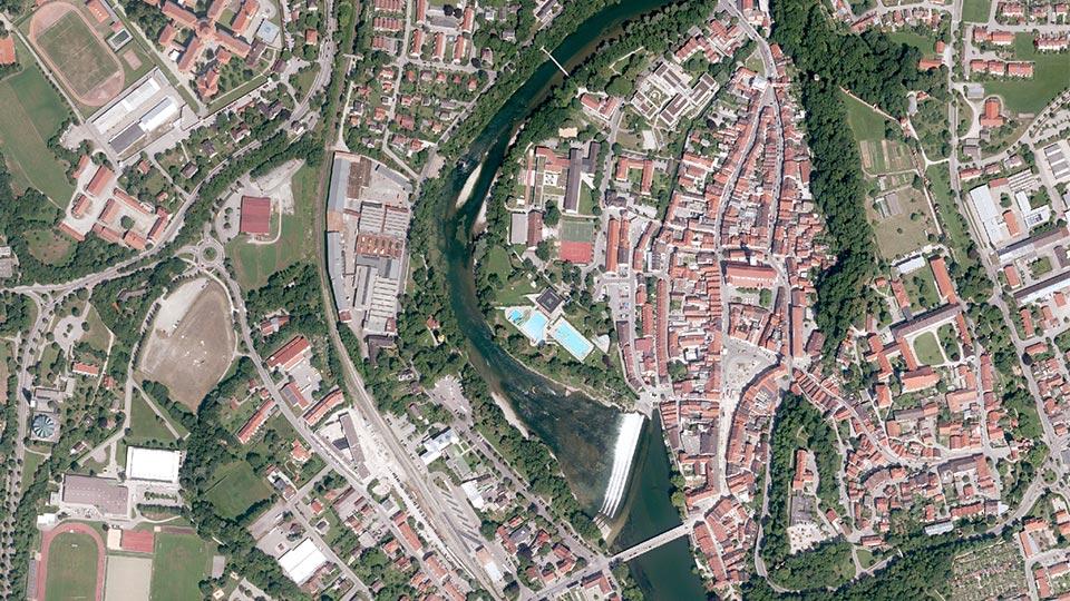 Geodatenerfassung aus der Luft