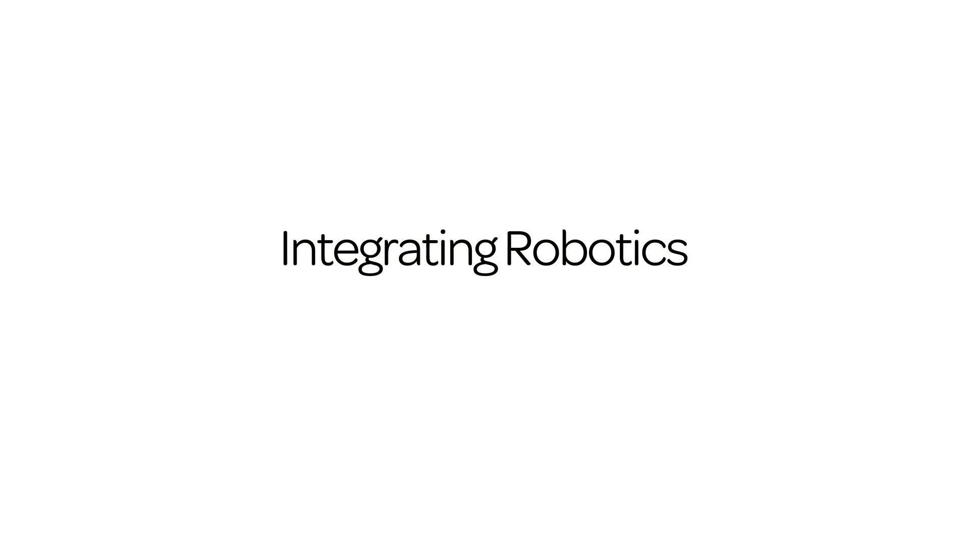 Integrating robotics anywhere near people must take into account the way humans navigate their lives.