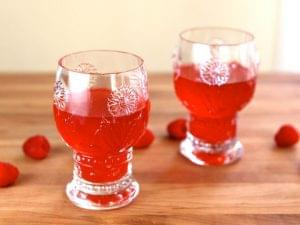 Raspberry-Cordial anne inspired