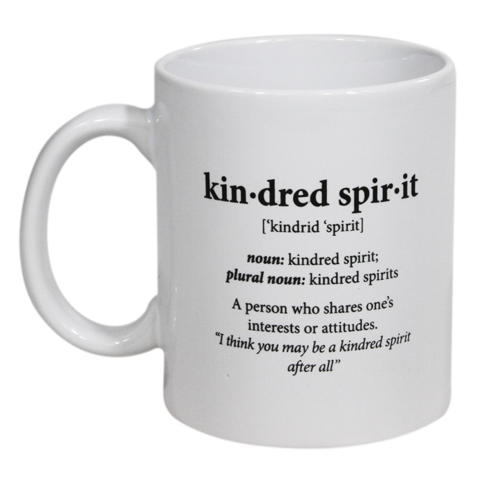 Kindred Spirit Definition Mug