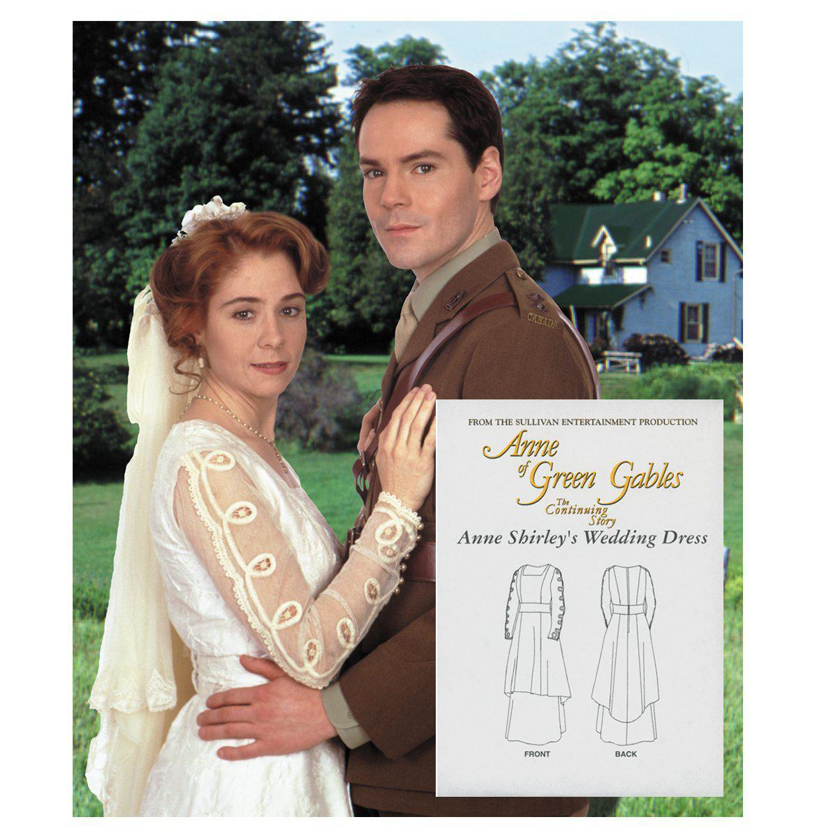 Anne's wedding dress pattern