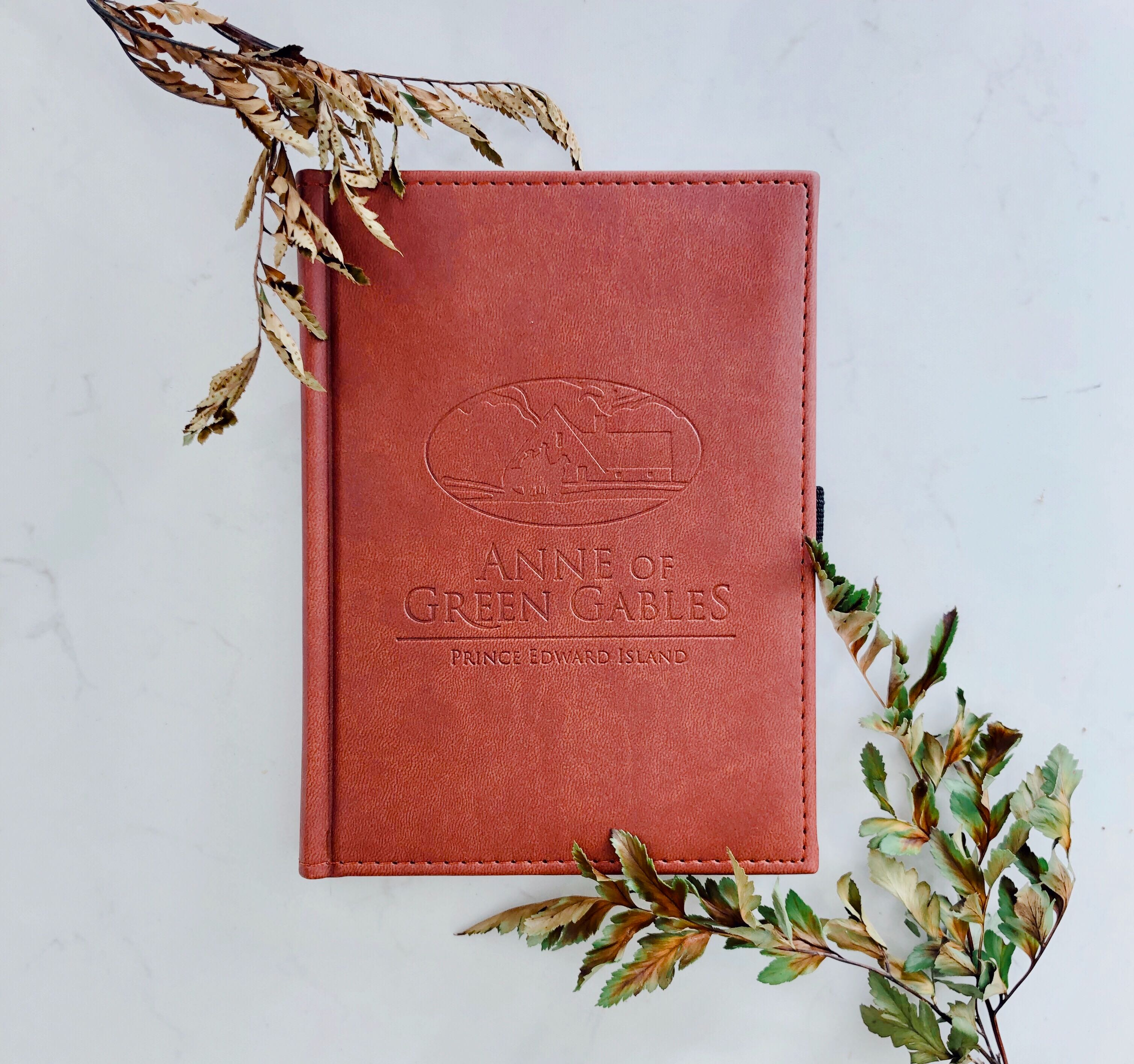 Anne of Green Gables leather-bound journal available at Shop at Sullivan