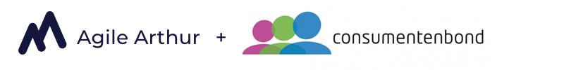Consumentenbond + Agile Arthur logo