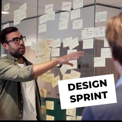 Arthur von Kriegenbergh facilitating a Design Sprint