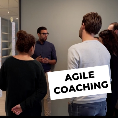 Agile coaching a group of people about a decision they want to make