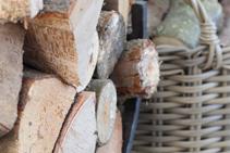 Mulberry Cottage Log Basket