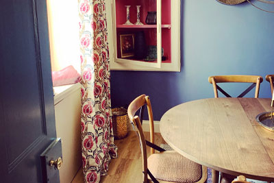 Mulberry Cottage Dining Space