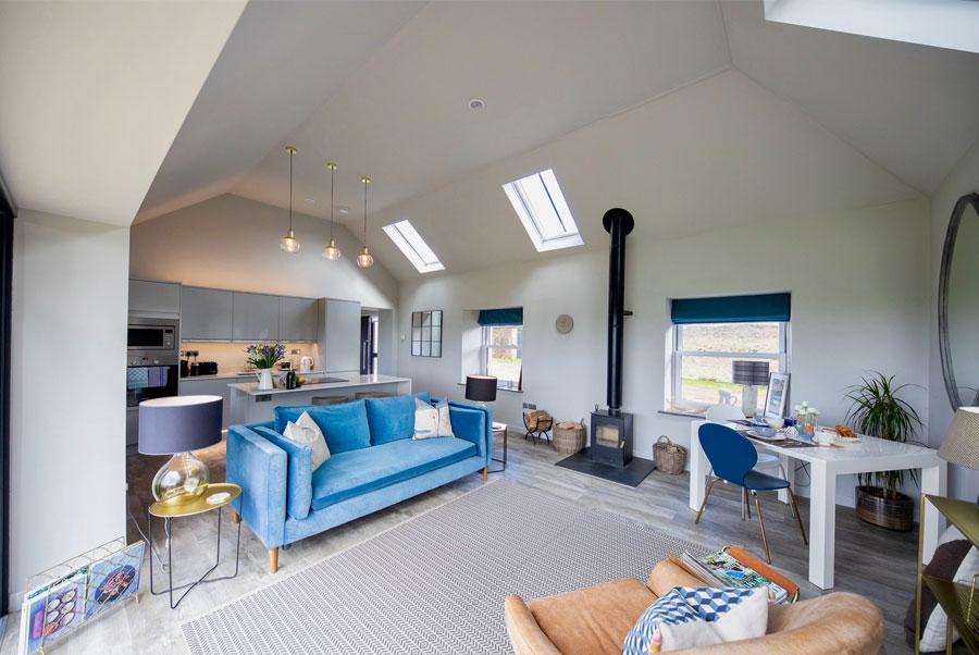 Faldonside | The Studio Open Living Area