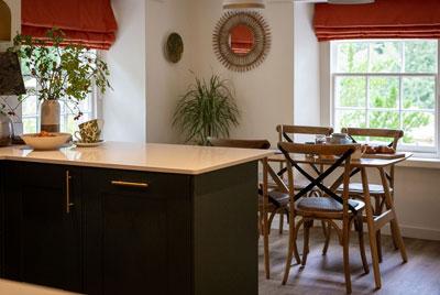 Faldonside | The Lodge Exterior Kitchen Dining