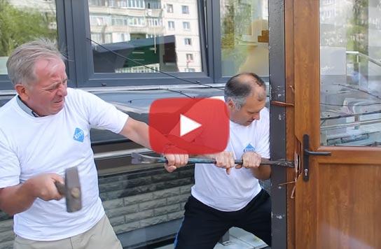 відео двері