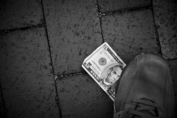 Step On Money