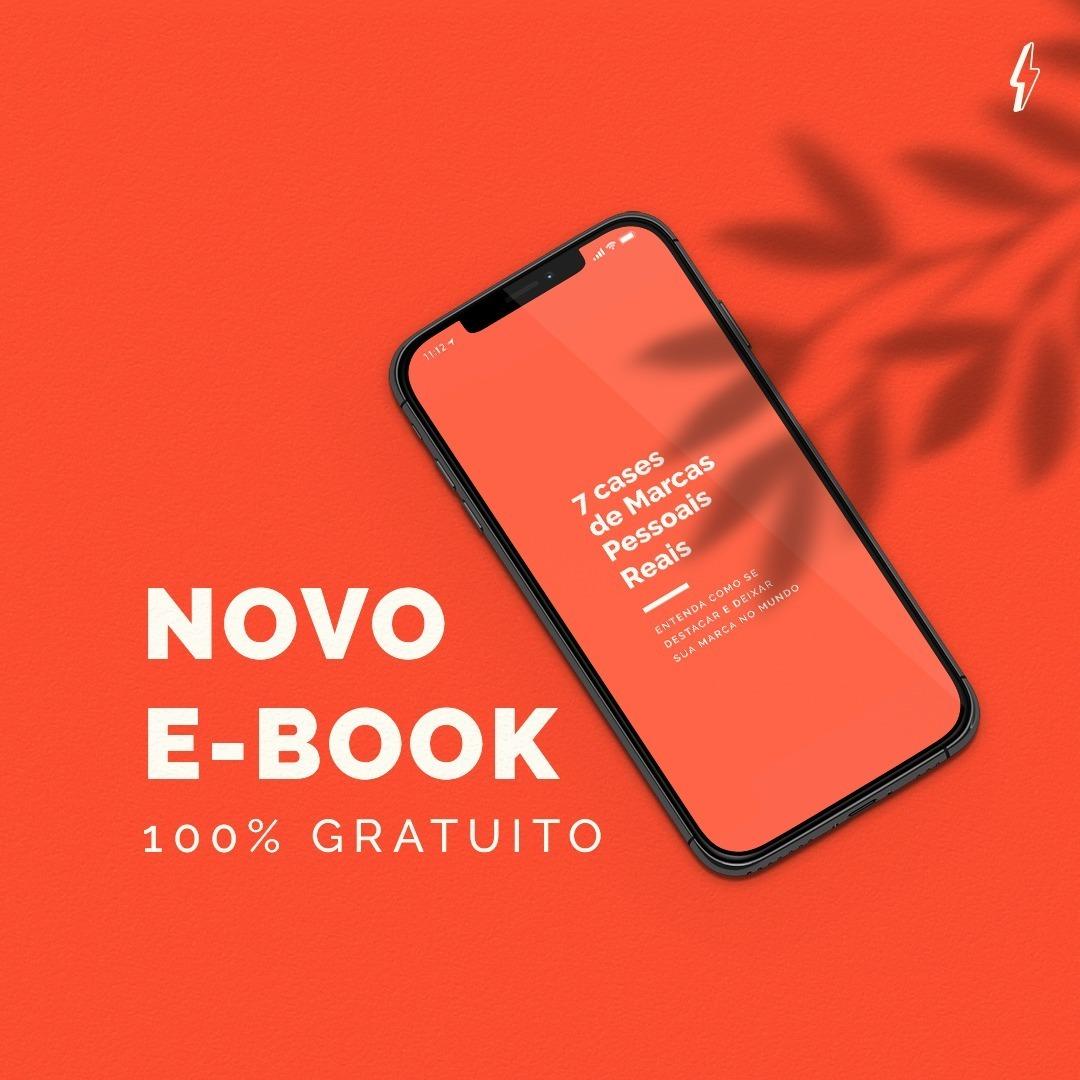 E-book gratuito 7 Cases de Marca Pessoal