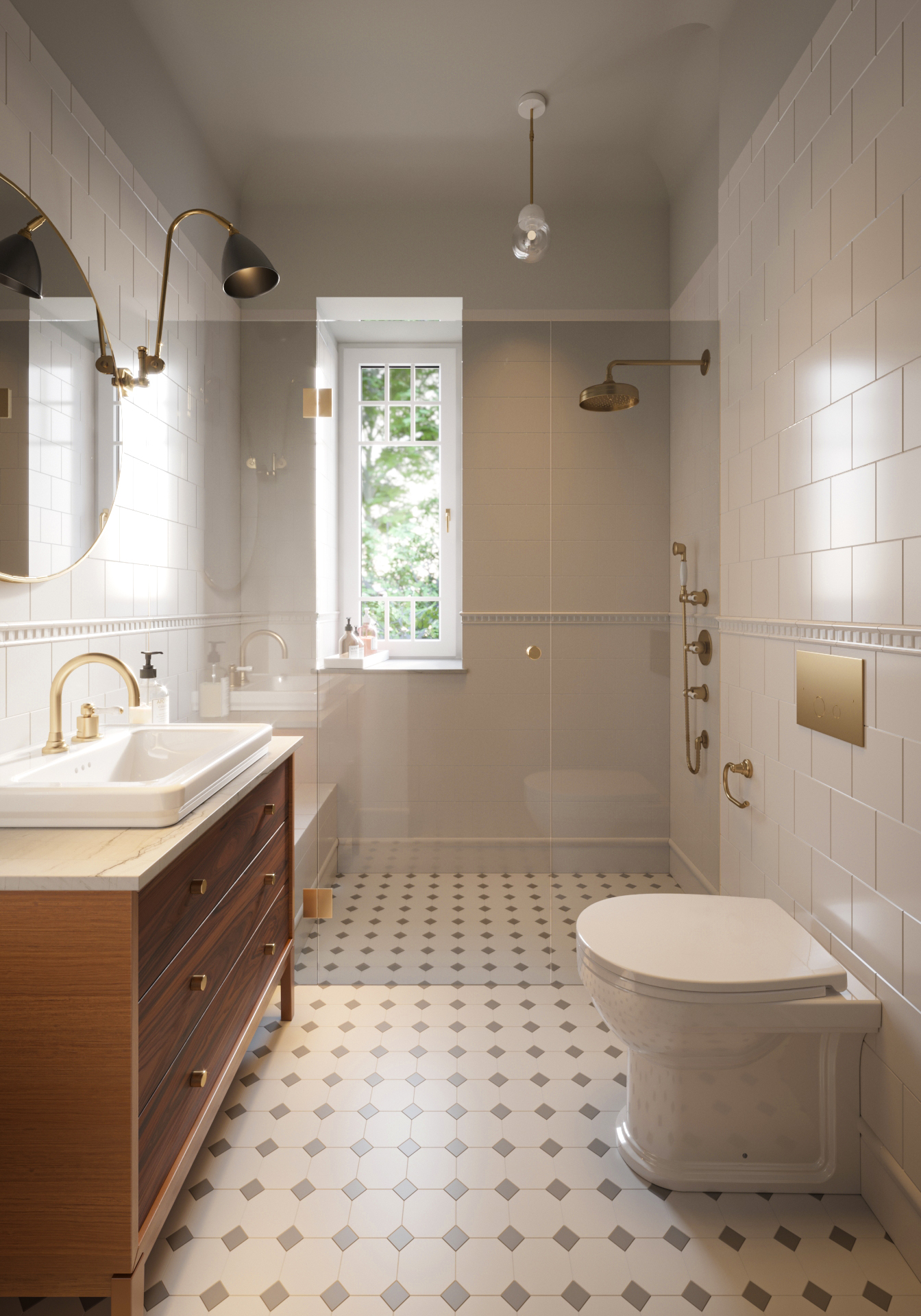 Boho Studio łazienka