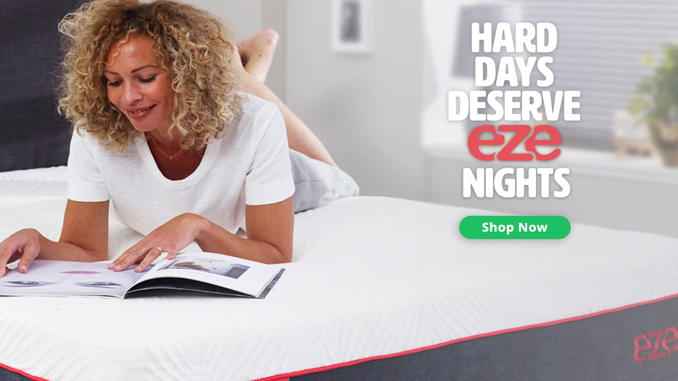 eze Mattress Brand and Website Design