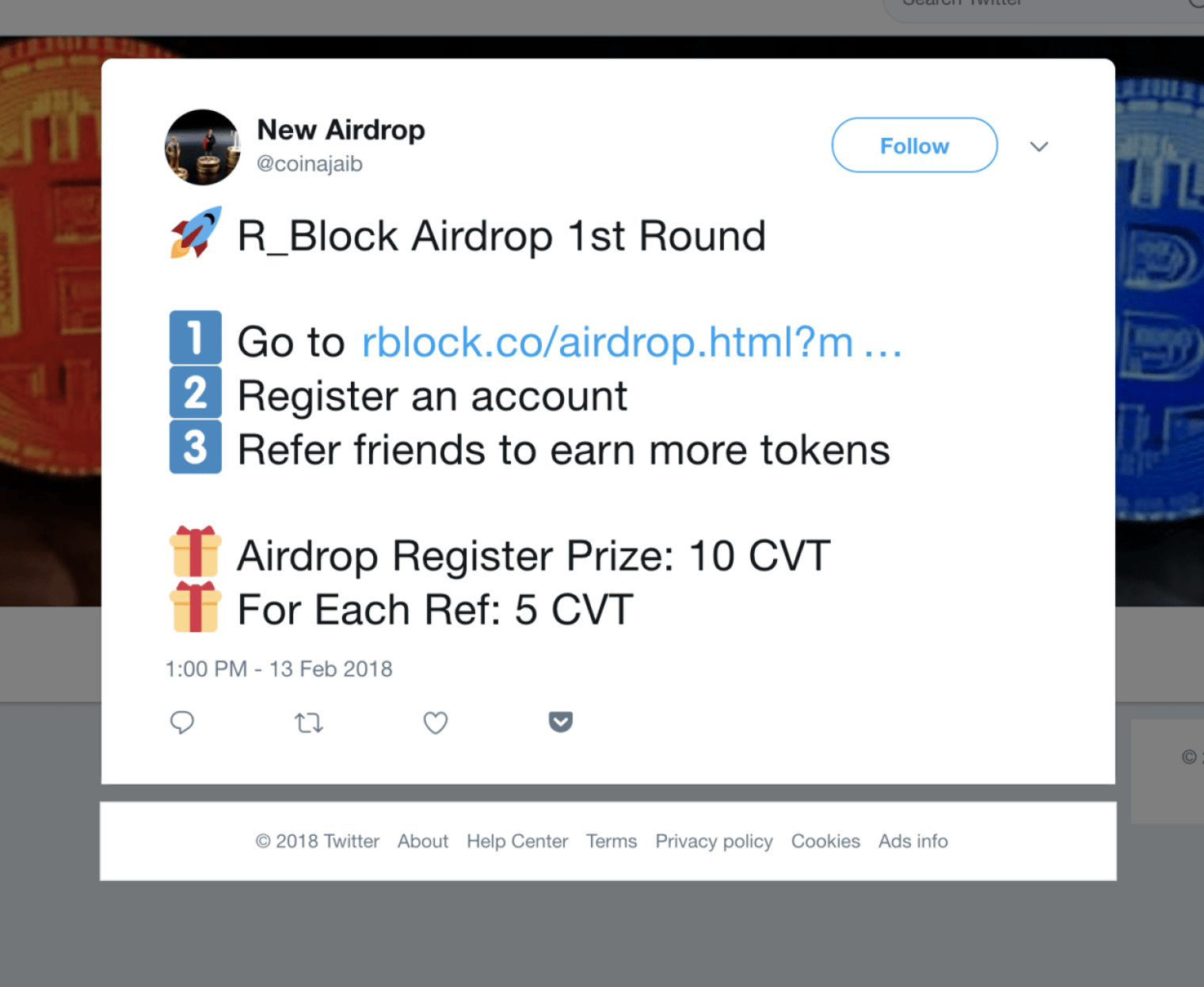 airdrop refer a friend r_block