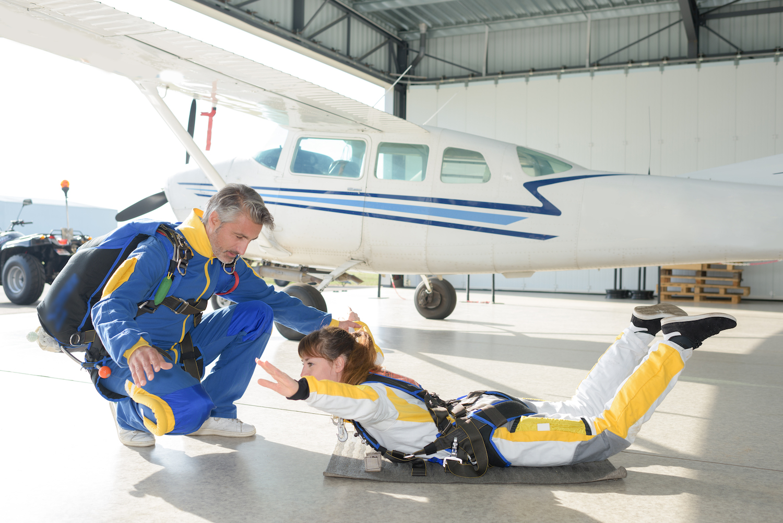Paris Blois Parachutisme Briefing saut en parachute