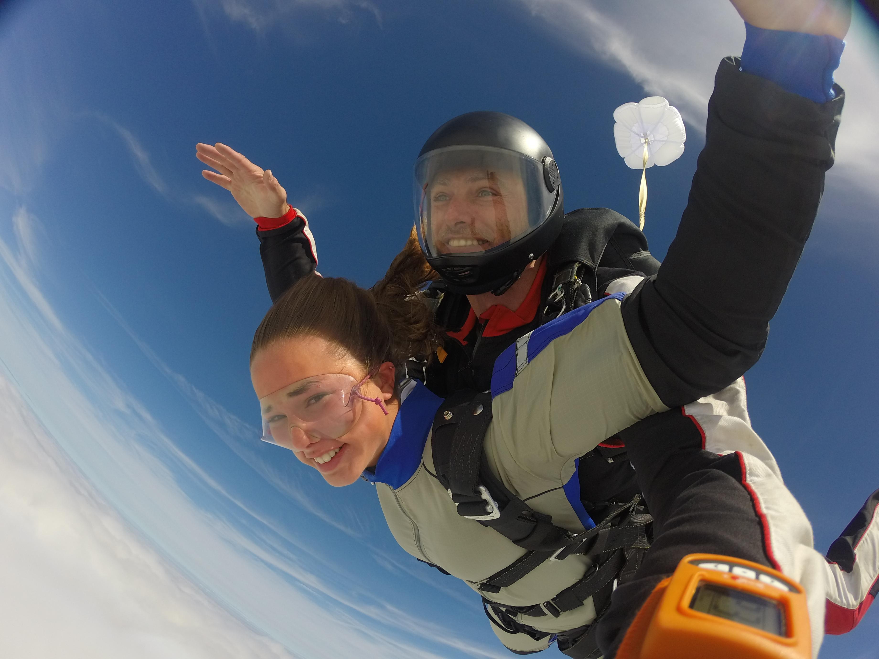 Paris Blois Parachutisme saut en tandem saut en parachute
