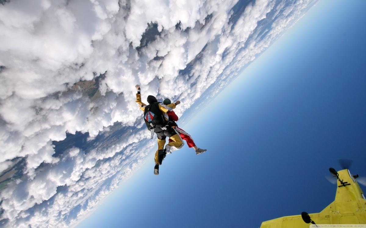 Paris Blois parachutisme saut