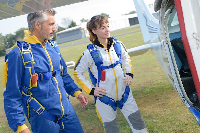 Paris Blois Parachutisme embarquement saut en parachute