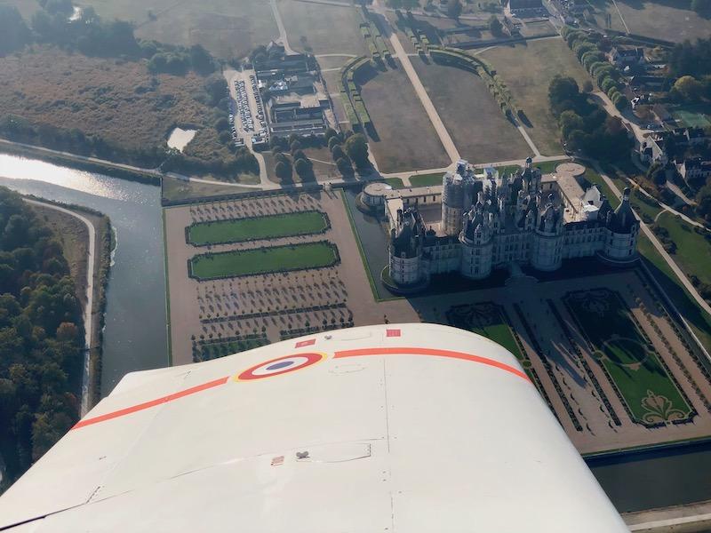 Paris Blois Parachutisme vol saut en parachute