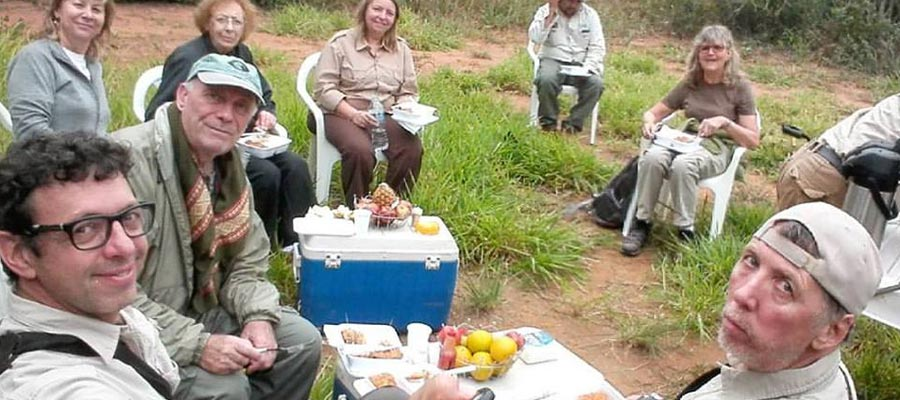 Picnic in the Cerrado with the wonderful group of our great friend Horacio Matarasso