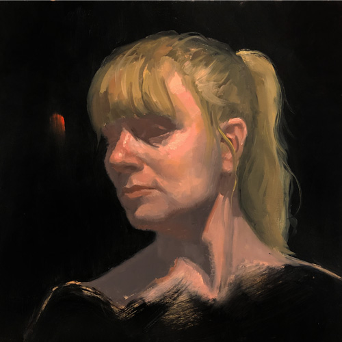Live Model Portrait Oil Painting Class Vancouver