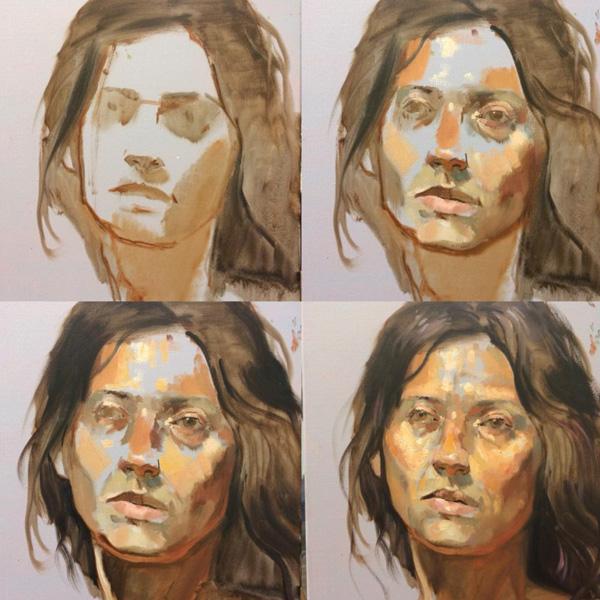 portrait painting class Vancouver