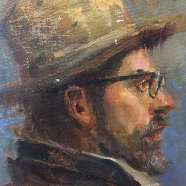 portrait painting all prime weekend workshop Vancouver